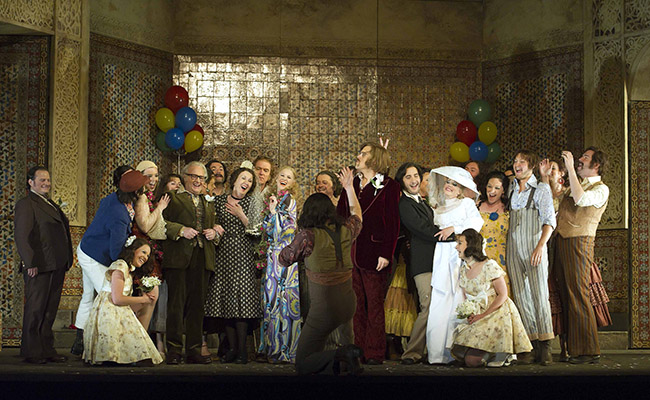 Le Nozze di Figaro, Glyndebourne Festival 2012. Photographer Alastair Muir.